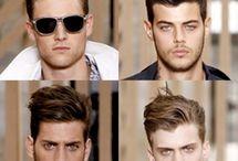 Men's Hairstyles / Estilosos cortes e cores para cabelos masculinos.