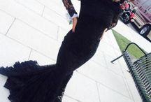 Black version of prom dress / prom
