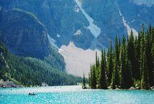 touriste / lake louise .alberta .canada