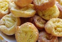 girelle fritte  di mele