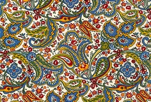 pointillism paisley