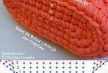 Háčkované /pletené/ tašky a kabelky