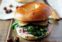 Sandwiches, bruschette, panini