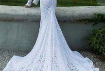 crochet  abiti da sposa