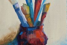 Fine Art by Sharon Menary / This is a compilation of paintings I do in watercolor, acrylic and oils
