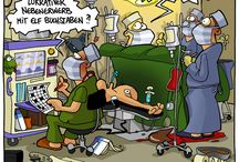 lustige Medizin