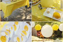 Lemonade Party / We love a good party...and, what better summer party, than a LEMONADE party!  Follow Abbey Malcolm Letterpress + Design to find the best ideas for your summer lemonade party! / by Abbey Malcolm Letterpress + Design