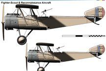 WW I ROMANIA MILITARY AIRPLANES