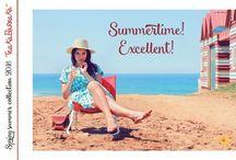 SPRING SUMMER 2016 TRAKA BARRAKA / Damos la bienvenida al calor, a los estampados que nos recuerdan al mar, a la suavidad de los tejidos, a la vaporosidad del momento. ¿Lo sientes?