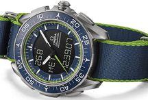 Omega / Découvrez des photos de montres d'Omega, l'une des plus grandes manufactures de montres suisse. Elle est reconnue pour certains modèles dont l'iconique Speedmaster.