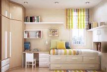 Kinderzimmer / Ideen für das Kinderzimmer. Einrichtungsideen, Dekoration, Stauraum