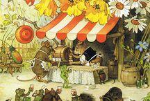 Иллюстрации Fritz Baumgarten