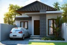 Desain Rumah / Desain rumah minimalis, modern dengan berbagai type dan model.