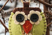 Sewing/felt / by Julie Vanderveer