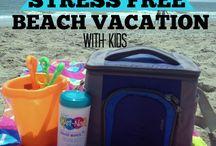 summer beach trips