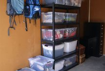 Storage/garage organization / by Jennifer Daly