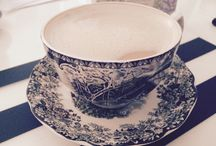 Porcelain Beauty / Old handpainted