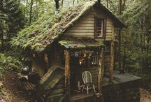 The Whimsical Woodland Cottage. / Please pin to your hearts content.