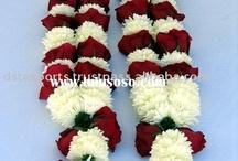 Indian wedding flowers ♡