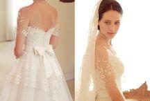 Vestidos de Noiva - Casamentos / Vestidos de noiva para todos os estilos de casamento: clássico, boho, minimalista...