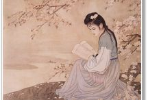 Chinese Claborate-style Painting / 工笔画(仕女图)Classic Portraits of Ladies
