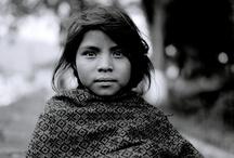 CHILDRIÑOS / El secreto de la genialidad es el de conservar el espíritu del niño hasta la vejez, lo cual quiere decir nunca perder el entusiasmo. Aldous Huxley / by Amelia Ramirez