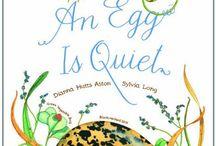 book nook:an egg is quiet