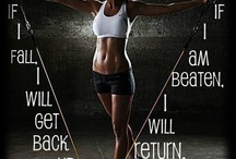 fitness inspiration:) / by Amber Hardy