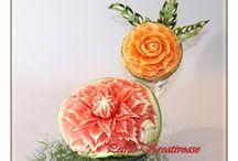 Fruit Carving / Gallery: Obst- und Gemüseschnitzen www.petras-kreativoase.de