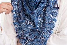 Hæklede sjaler