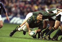 Joost van der Westhuizen Springbok rugby legend