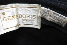 Vintage hat: Gene Doris / by Mary Robak
