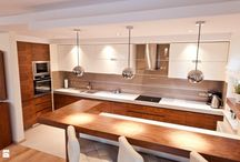 Kuchnia / Zbiór inspiracji na aranżację nowego domu
