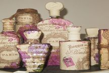 Decoupage / Collection of decoupage crafts