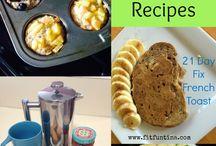 Breakfast ideas / by Martha Atkins