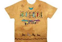 Men's Yoga & Native American T-Shirts