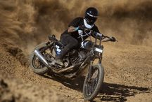 Tracker Motorcycles / Dirt tracker style motorcycles have gained popularity as of late. It isn't hard to figure why; speed, handling, on-and-off road capabilities... What's not to like?
