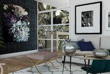 living botanical interior