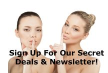 Secret Deals & Discounts / Sign up for Sublime Beauty Secret Deals Newsletter, Which Comes Out Twice Per Month with Discounts Not Shared with the Public! http://sublimebeautyshop.com/pages/deals