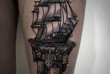 Blackwork Tattoos / Tatuagens - Blackwork