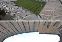Los estadios del mundial de fútbol #Brasil2014 / Conoce los estadios en los que se efectuarán los encuentros de la Copa Mundial de Fútbol, #Brasil2014.