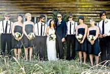 czarno-białe wesele