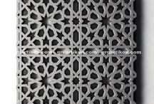Motif GRC Krawangan (intricated decorative screen)