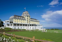 The Ocean House, Watch Hill, Rhode Island / Set high on the bluffs of Watch Hill, Rhode Island, the historic Ocean House offers the ultimate luxurious seaside getaway.