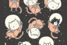 Cat tattoo mood board