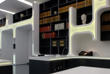 Alphabet Library - Montpellier / Reading Room, Library inside Pierresvives building designed by hoffice
