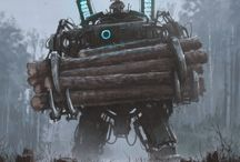 science fiction & fantasy - great art