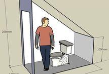 salle de bain comble