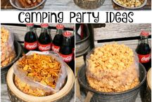 CAMP PARTY IDEAS