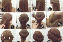 Gaya rambut simpel